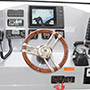 Titan 300 Express Cabin steering console and equipment